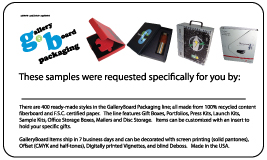 Distributor-samples-sent-card-conv