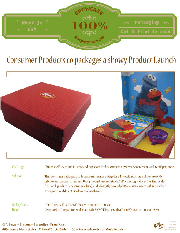 Experience_ShowcasePackaging_Flyer_Packaged-Goods_Launch